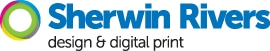 Sherwin Rivers Ltd – Staffordshire's Full Colour Print Specialists Logo