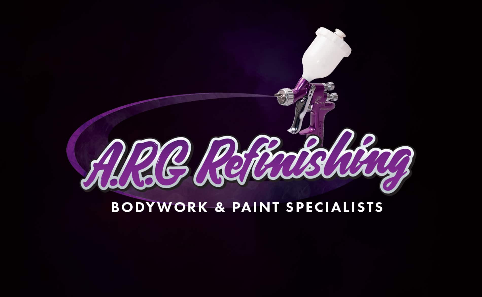 Graphic Design and Branding Services ARG Refinishing Bodyshop Logo Design