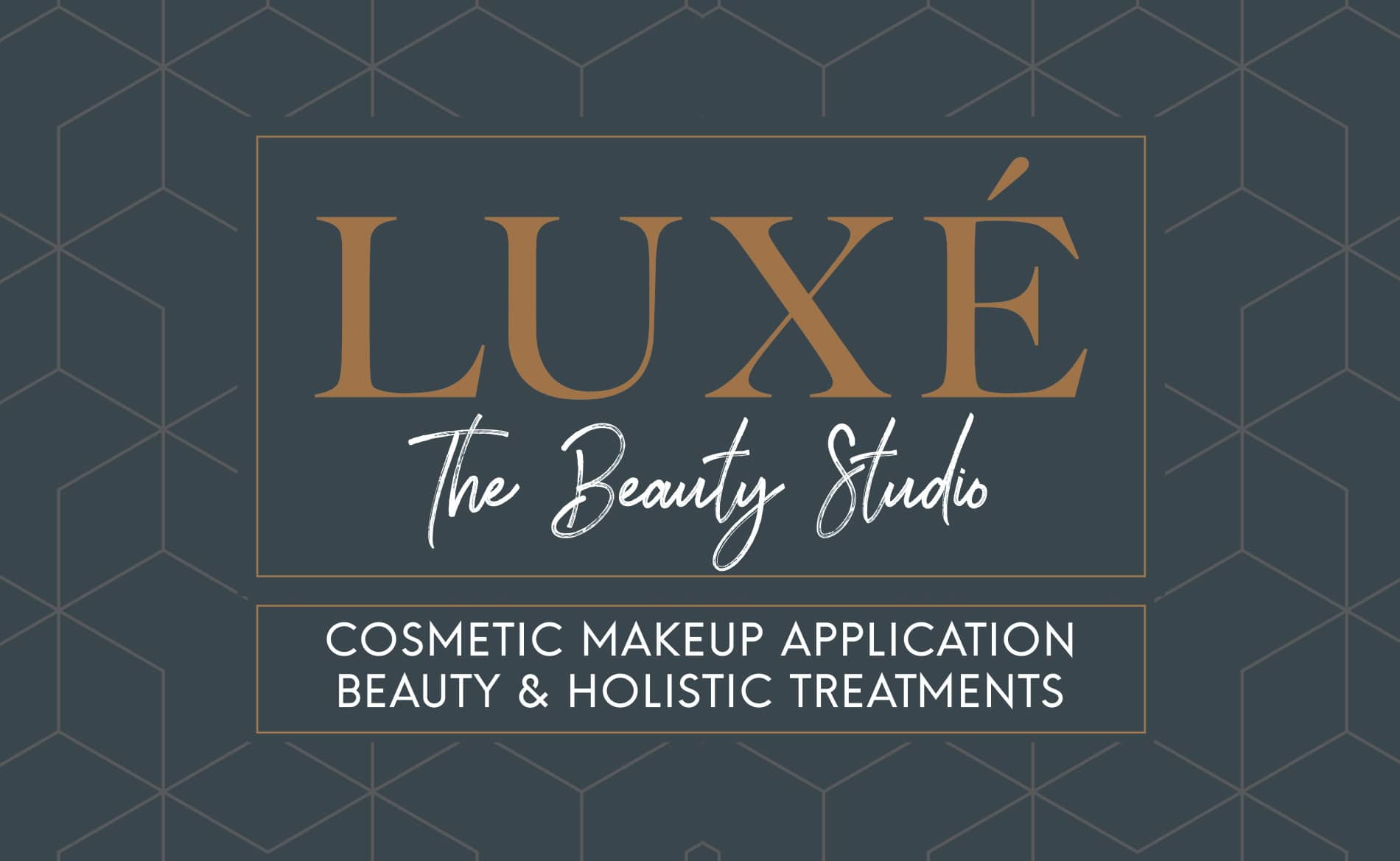 Graphic Design and Branding Services Luxe Beauty Studio Logo Design