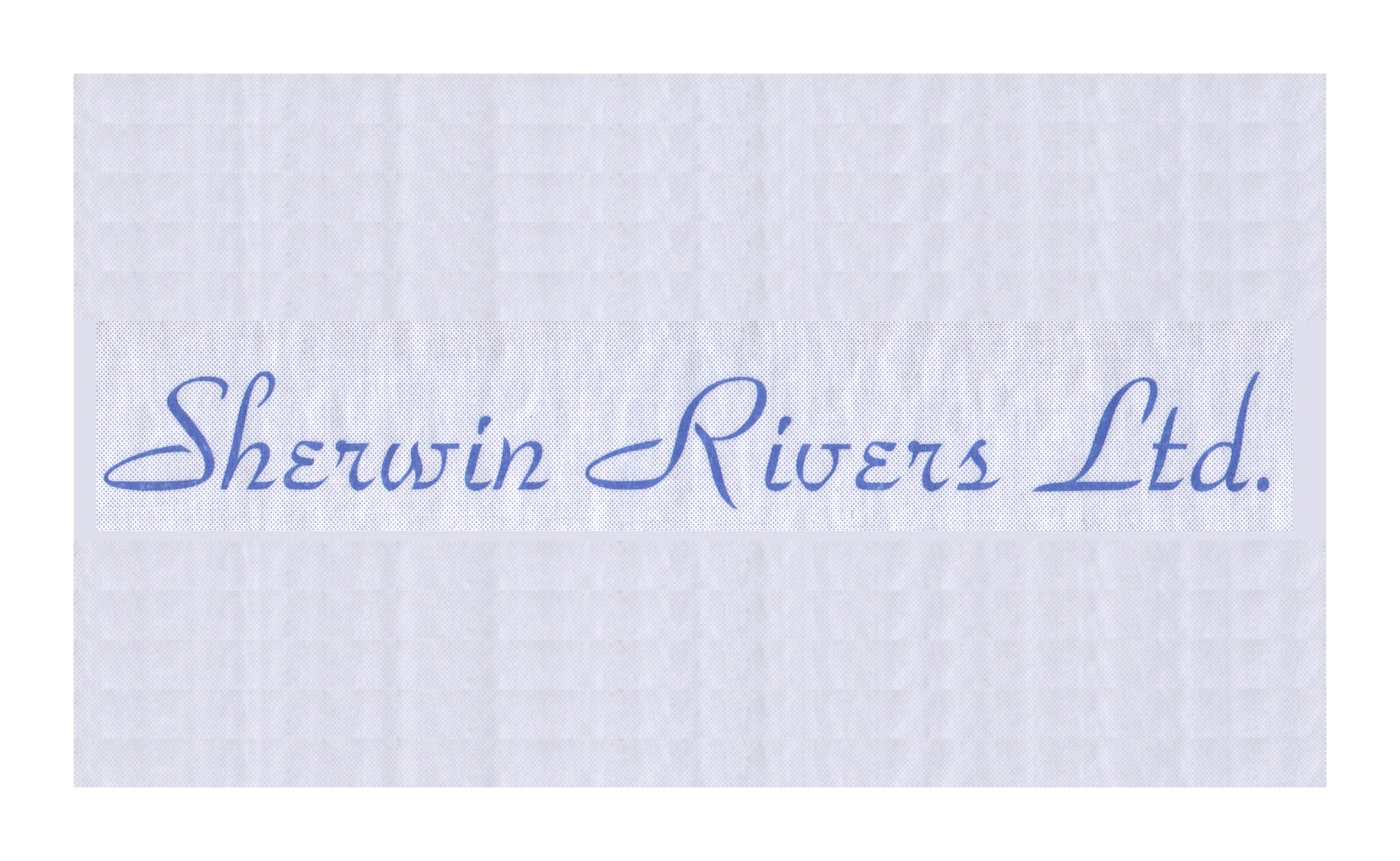 Graphic Design and Branding Services Sherwin Rivers Ltd - Logo Design 1980's