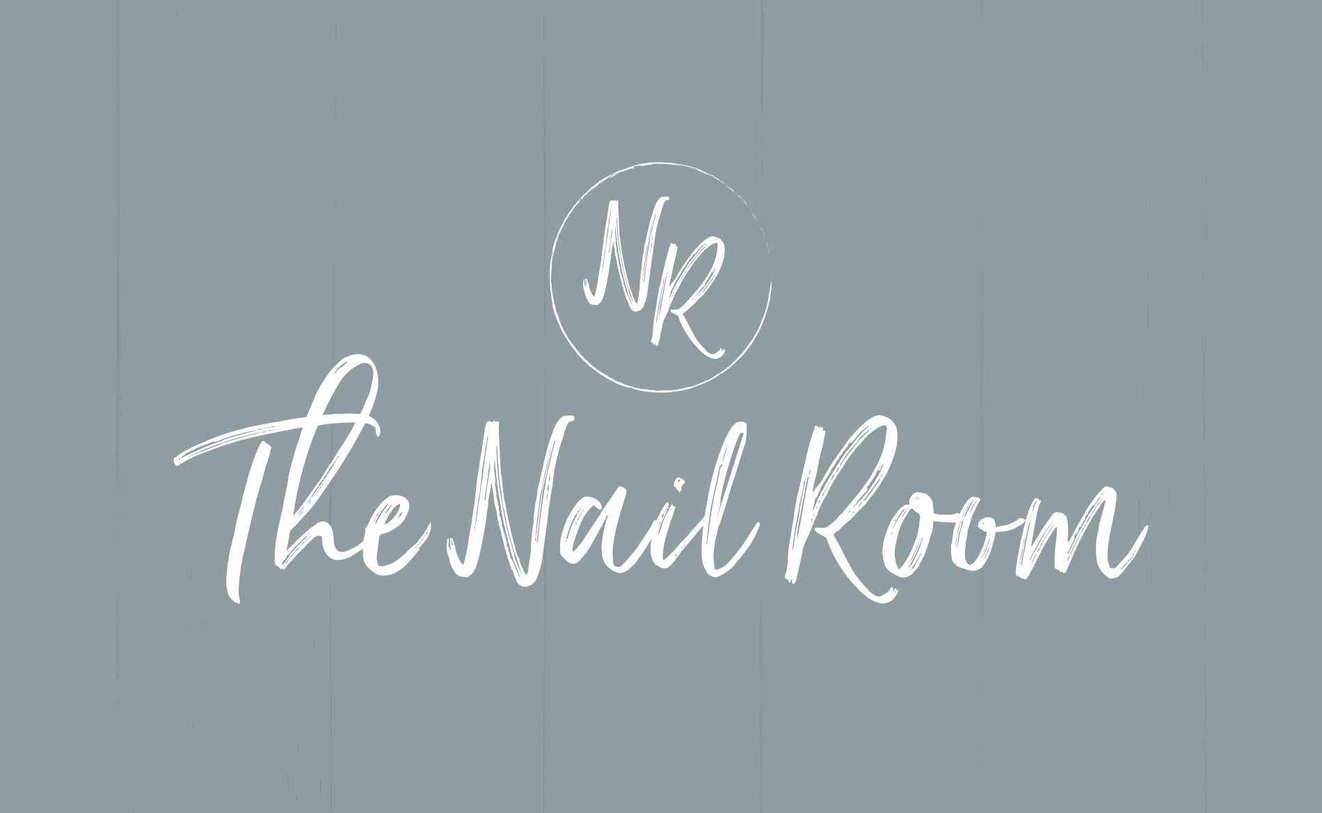 Graphic Design and Branding Services The Nail Room Logo Design