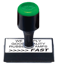 Rubber Stamps, Self-Inking Stamps & Ink Pads, Stoke-on-Trent, Staffordshire - Rubber Stamp Image