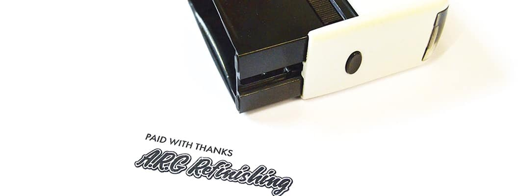 Rubber Stamps, Self-Inking Stamps & Ink Pads, Stoke-on-Trent, Staffordshire